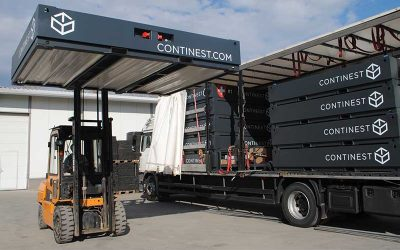 Cube Modular Takes Delivery of Continest Containers For The UK Market