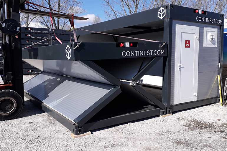 continest containers double build
