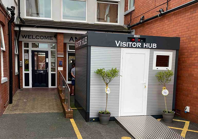 carehome visitor centre