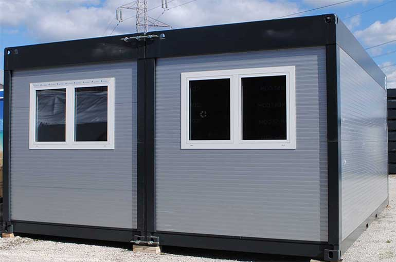 robust modular portable buildings for construction sites