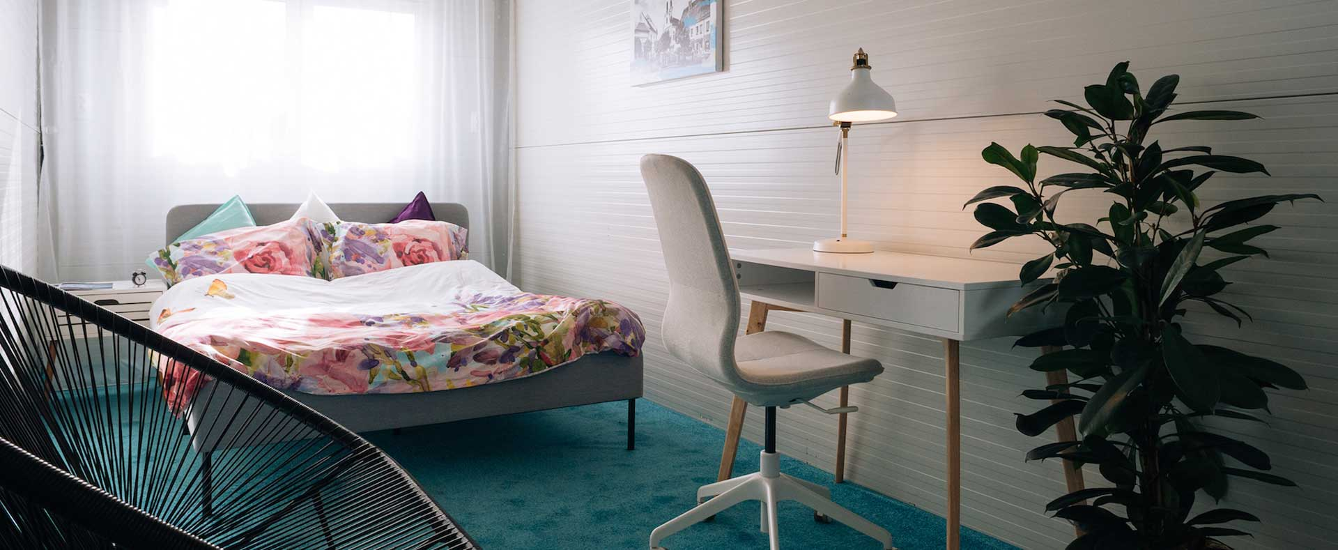 care home container bedroom