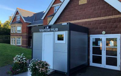 Care Home Visitor Pods Bring Residents And Families Together For The First Time Since Lockdown