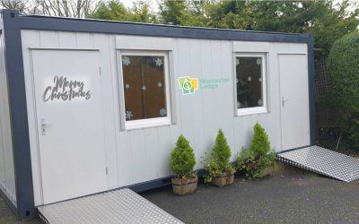 Care Home Visiting Pod – Case Study