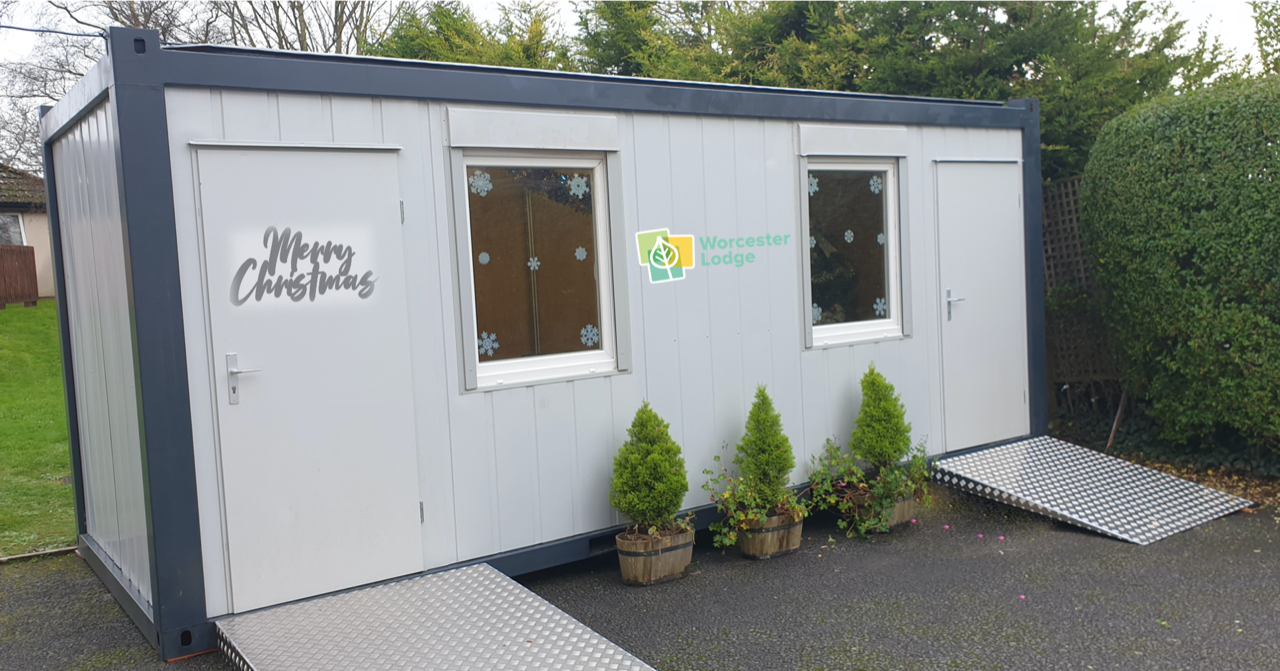 care home visiting pod