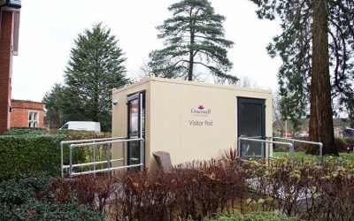 Wales To Welcome 33 Cube Modular Visitor Pods At Care Homes Across The Country