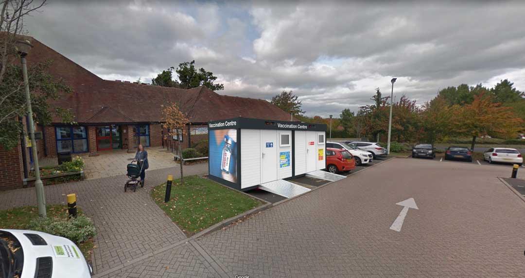 vaccination centre in situ