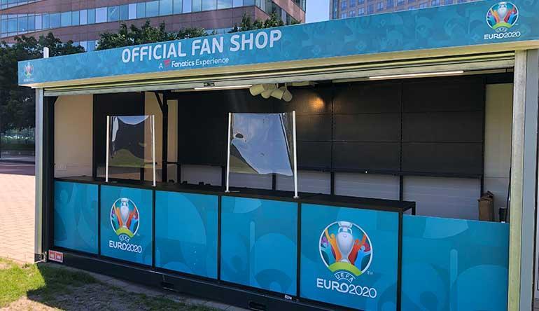 euro2020 fan shop, amsterdam