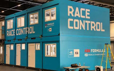Showcasing Continest's Foldable Container Technology at London E-Prix