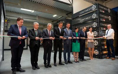 Cube Celebrates Partner Continest's Expansion As Minister Opens New Factory In Hungary