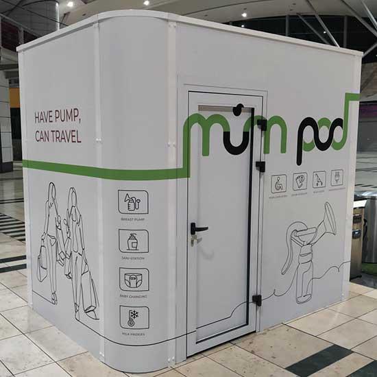 mumpod breastfeeding unit