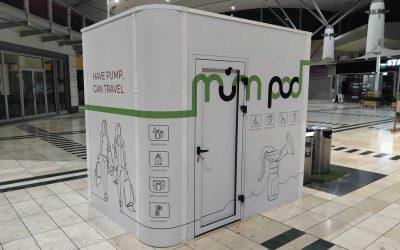 MumPod Debuts In Milton Keynes For World Breastfeeding Week
