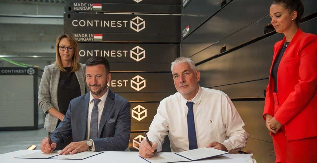 cube signs pan european agreement with continest